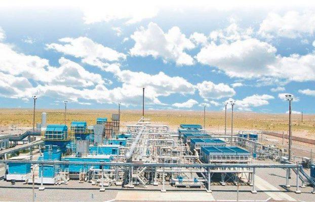 В месторождении «Зеварда» ведется строительство компрессорной станции низкого давления